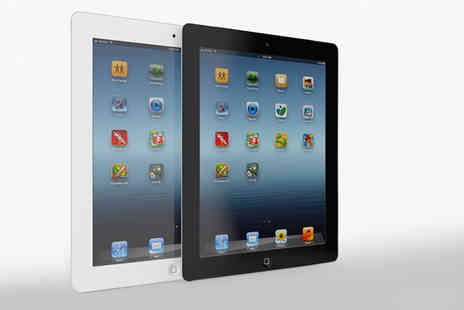 Megamax Marketing - Refurbished Apple iPad 2 or Refurbished iPad 4 choose from two colours - Save 59%