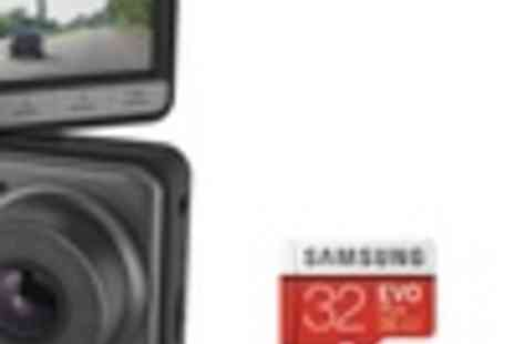 Groupon Goods Global GmbH - Kitvision Observer 1080p Dashboard Camera with Samsung Evo Plus 32GB Micro SD Card With Free Delivery - Save 32%