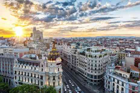 Via Holiday - Four nights Barcelona and Madrid holiday with breakfast and return flights - Save 30%