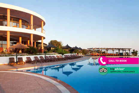 Book It Now Holidays - Seven nights half board Halkidiki holiday with return flights - Save 35%