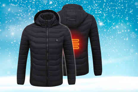 Domo Secret - Heated mens jacket choose from two colours - Save 72%