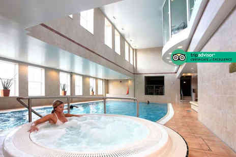 Best Western Premier Yew Lodge Hotel - Overnight stay for two people with breakfast, a two course Marco Pierre White dinner, spa treatment, leisure access and late check out - Save 44%