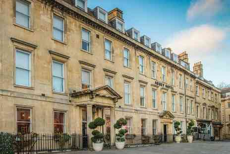 Abbey Hotel - Four Star Overnight central Bath stay with three course dinner at Pierre Koffmann & Marco Pierre Whites joint brasserie, bottle of Prosecco, breakfast and late check out - Save 45%