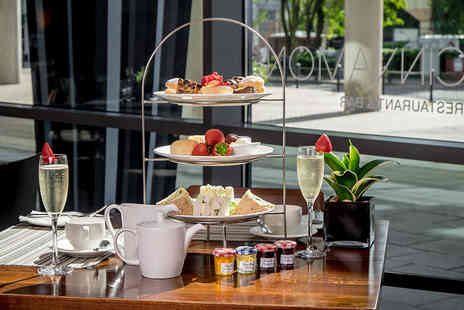 Hilton Canary Wharf - Afternoon tea for two people with a sparkling cocktail each at Cinnamon Restaurant and Bar - Save 58%