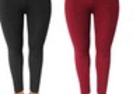 Groupon Goods Global GmbH - Plus Size Fleece Lined leggings  - Save 0%