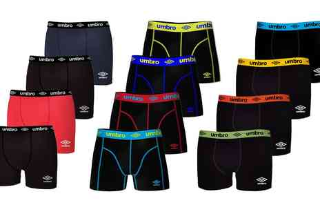 Groupon Goods Global GmbH - Umbro Mens Boxers Multi Pack - Save 0%