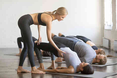 AM Power Yoga - Five or Ten yoga sessions - Save 77%