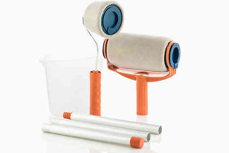 Shop Story - Anti Spatter Refillable Paint Roller Pro With Pour The Paint Inside - Save 41%