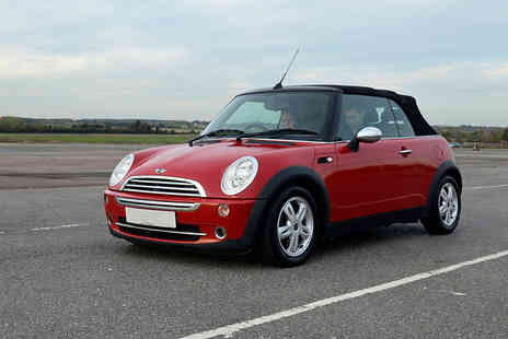 Supercar Test Drives - 30 minute Mini first driving lesson or 60 minute lesson - Save 50%