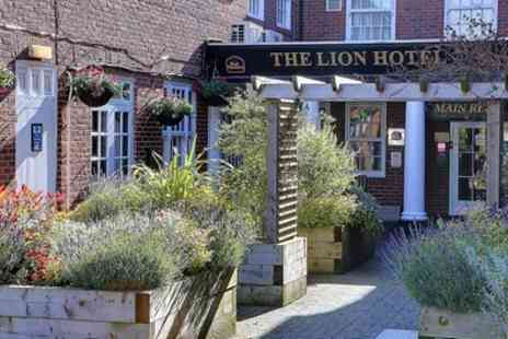 BEST WESTERN Lion Hotel - Standard or Executive Double Room for Two with Breakfast - Save 38%
