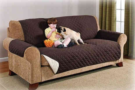 Eurotrade - Pet proof quilted sofa cover - Save 48%