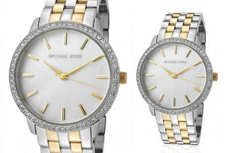 Ticara Watches - Michael Kors MK3139 two tone watch - Save 66%