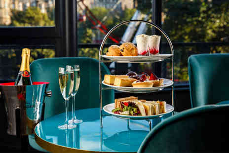 Mercure Edinburgh Princes Street - Afternoon tea for two people, Include a glass of Prosecco each - Save 50%