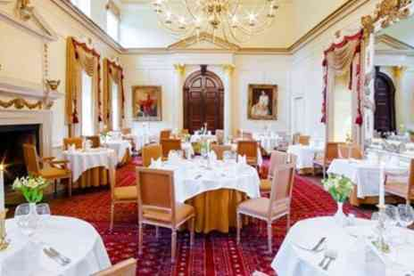Hintlesham Hall - 2 AA Rosette meal for 2 - Save 0%