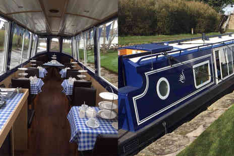 Blue Swan Boat Hire - Canal cruise with afternoon tea for two people - Save 63%