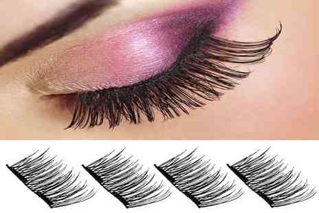 Ckent - Four magnetic 3D double lashes - Save 65%