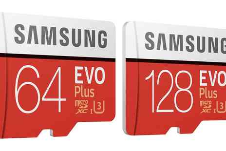Groupon Goods Global GmbH - Samsung Evo Plus 64Gb or 128Gb Micro Sd Card with Adapter - Save 0%