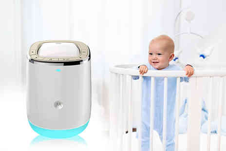 Trojan Electronics - Motorola smart nursery dream machine - Save 62%
