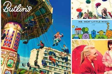 Butlins - Butlins Bognor Regis Exclusive Roll Back to 2017 Prices for Easter Holiday Day Pass - Save 40%