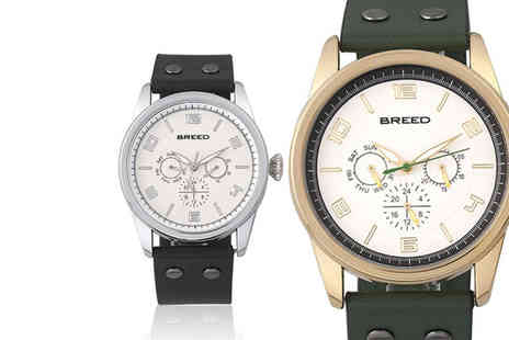 Breed Watches - Rio luxury mens watch choose from six designs - Save 84%