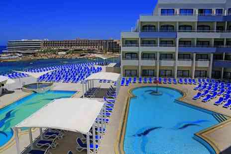 Bargain Late Holidays - Four Star three, five or seven nights all inclusive Malta getaway in a pool view room Now with the option to choose your flight - Save 27%