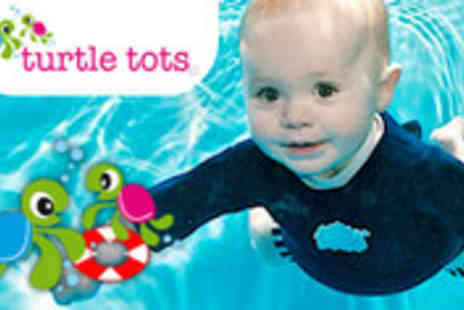 Turtle Tots - Babies swimming lessons - Save 59%