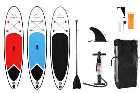 Groupon Goods Global GmbH - Go Venture Paddle Board and Accessories With Free Delivery - Save 0%