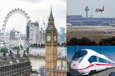 ATN Cars - Private Transfer from Heathrow Airport to St Pancras station via London Hotel - Save 0%