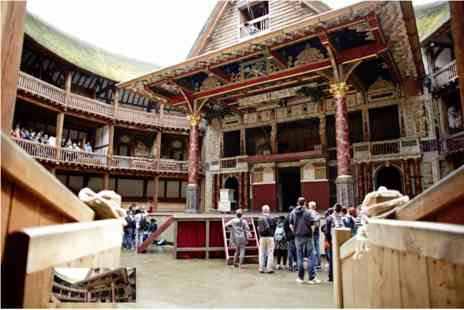 Gordon Ramsays - Guided Tour of Shakespeares Globe Theatre with Meal for Two - Save 0%