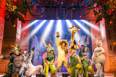 Leicester Haymarket Theatre - One ticket to Madagascar the Musical from 5th To 8th Mar 2019 - Save 51%