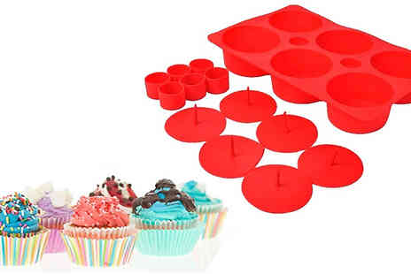Home Season - Tasty Fill Cupcake Baking Tray - Save 92%