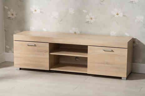 Dreams Outdoors - Hastings Tv cabinet choose from two sizes and three colours - Save 42%