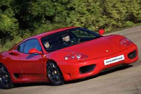 Ferrari 360 F1 - Junior Ferrari Driving Experience for One or Two - Save 62%