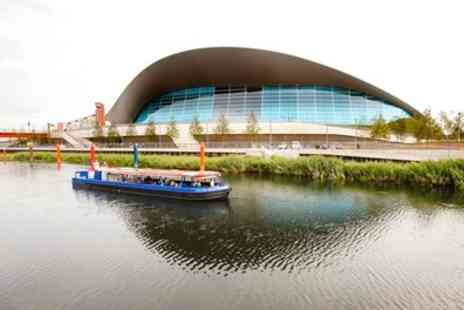 Lee and Stort Boats - Queen Elizabeth Olympic Park Boat Tour for Child, Adult or Family of Four - Save 40%