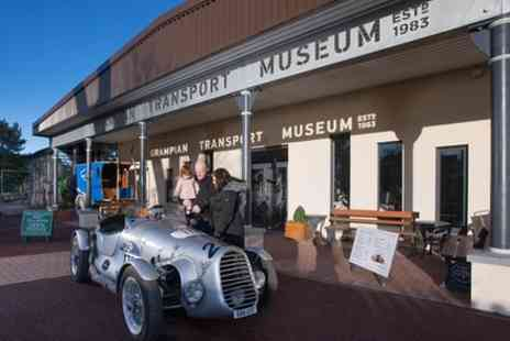 Grampian Transport Museum - Museum of land transport which also probes the future with interactive exhibits - Save 0%