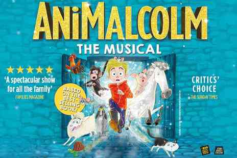 G Live - ANiMALCOLM Guildford Based on the Best Seller from David Baddiel - Save 35%