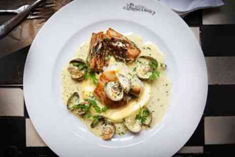 Randall & Aubin - Celebration of seafood meal and bubbly for 2 - Save 37%