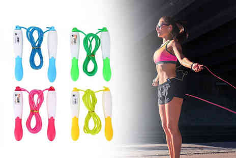 hey4beauty - Skipping rope with jump counter - Save 85%