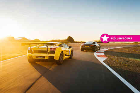 Drift Limits - Eight lap driving experience in one supercar - Save 51%
