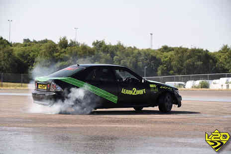 Learn2Drift - One hour car drifting experience including five passenger laps for one person - Save 61%