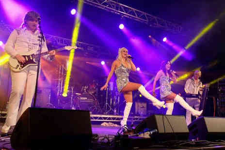 Fusion Functions - Ticket to see the ABBA A Rival tribute show on Saturday 4th May - Save 42%