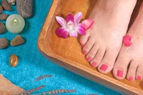 Pinkies And Toes Beauty Salon - Gel Manicure or Pedicure or Both - Save 43%