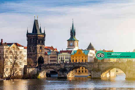 Bargain Late Holidays - Escape with a two or three nights Prague city stay Now with the ability to choose your flight - Save 0%