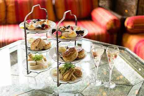The Crazy Bear - Premium Champagne afternoon tea for one person - Save 50%