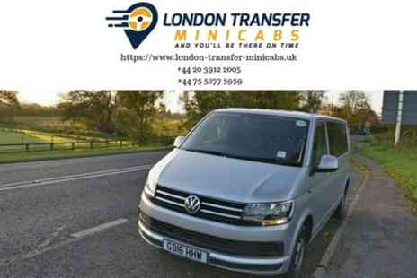 London Transfer Minicabs - London to Luton Airport Private Minibus Transfer - Save 0%