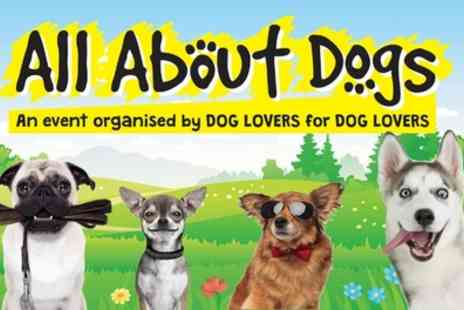 Aztec Events - Two or four tickets to the All About Dogs Show on 13 April To 19 September - Save 30%