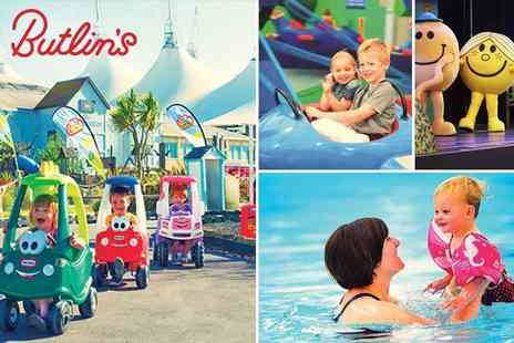 Butlins - Just for Tots Day Passes to Butlins Bognor Regis Flexible Dates with Especially Designed Fun for Under 5s, 50% off - Save 50%