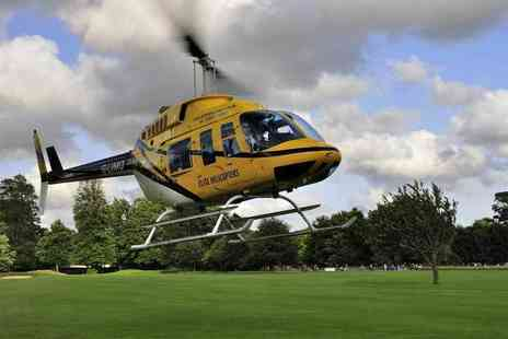 Elite Helicopters - Beaches and Bays helicopter flight with Elite Helicopter Flights - Save 30%