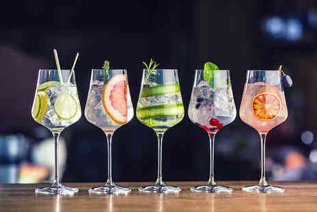 Hope Street Cocktail Bar - Gin tasting experience for two people with three gins each - Save 52%