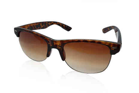 Best Tablet Company - Pair of ladies Clubmaster tortoiseshell sunglasses - Save 73%